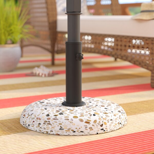Noa Outdoor Concrete Free Standing Umbrella Base by Highland Dunes