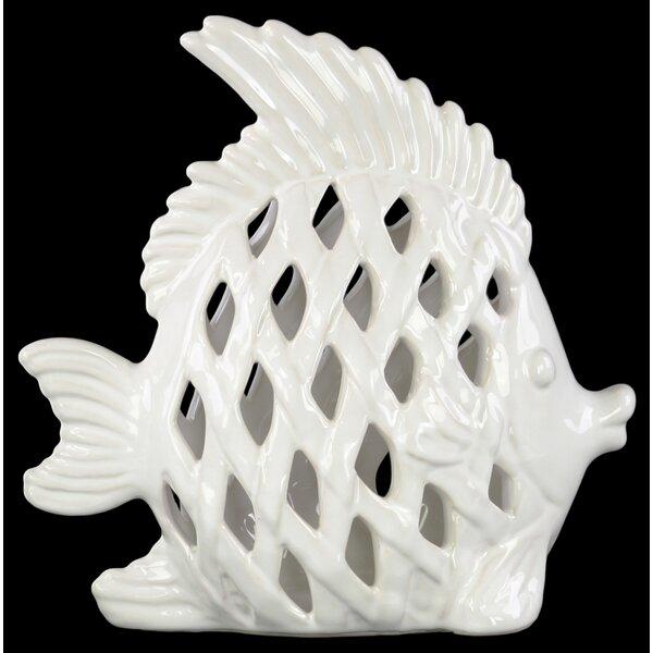 Meier Angel Fish Figurine by Bay Isle Home