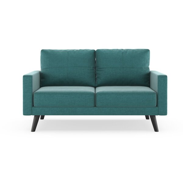 Get Great Cowden Mod Velvet Loveseat by Corrigan Studio by Corrigan Studio