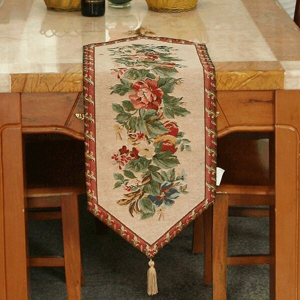 Festive Yuletide Table Runner by Tache Home Fashion