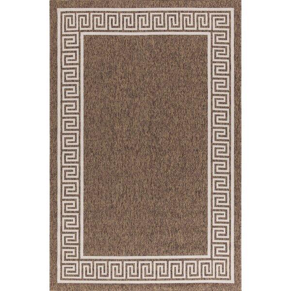 Molden High-Quality Brown Indoor/Outdoor Area Rug by Bloomsbury Market