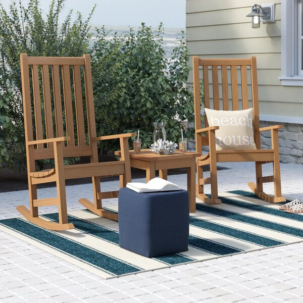 Mynatt 3 Piece Conversation Set by Beachcrest Home