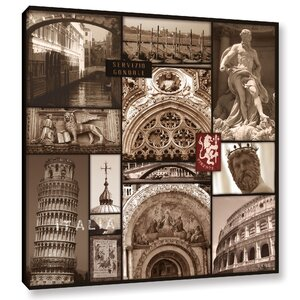 Italy Graphic Art on Wrapped Canvas by Red Barrel Studio