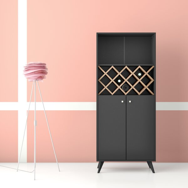 Creasey Bar with Wine Storage by Hashtag Home Hashtag Home