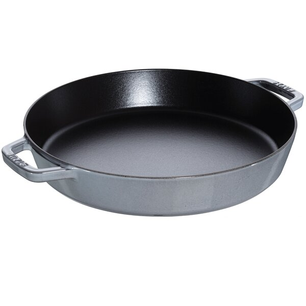 Cast Iron 13 Double Handle Fry Pan by Staub