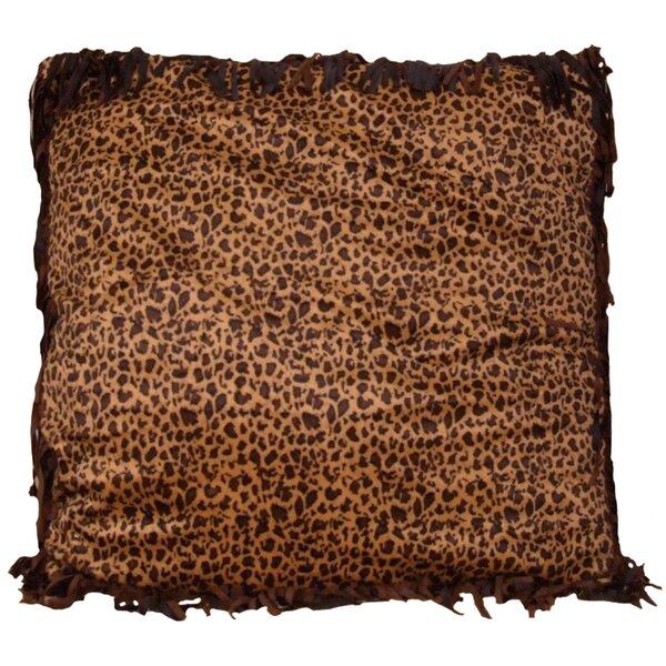 Ivana Leopard Euro Pillow by Zoomie Kids