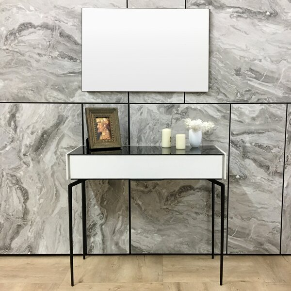 Fawley Console Table and Mirror Set by Ivy Bronx