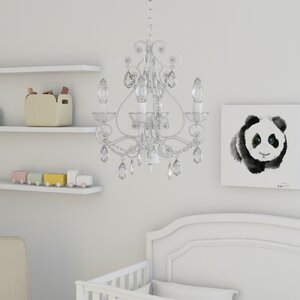 Caden 4-Light Crystal Chandelier