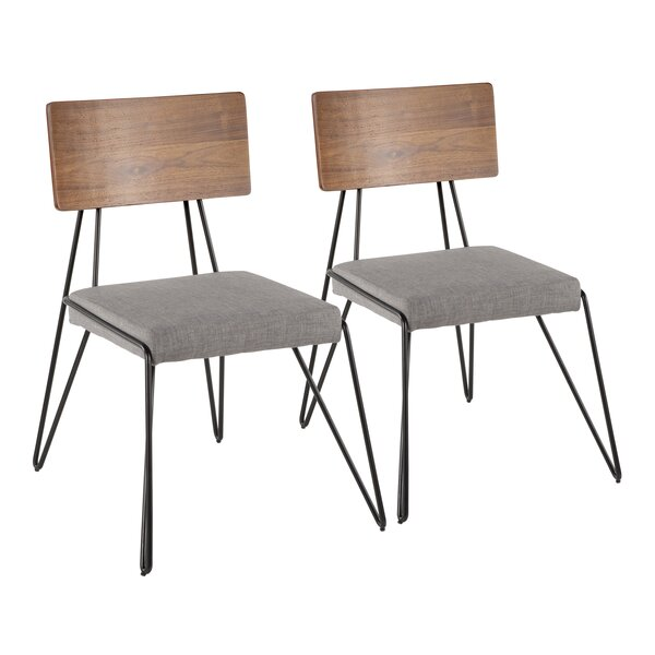 Miro Upholstered Dining Chair (Set of 2) by Langley Street