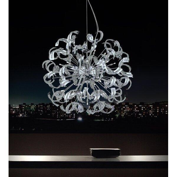Fritz 18-Light Sputnik Chandelier by Wrought Studio