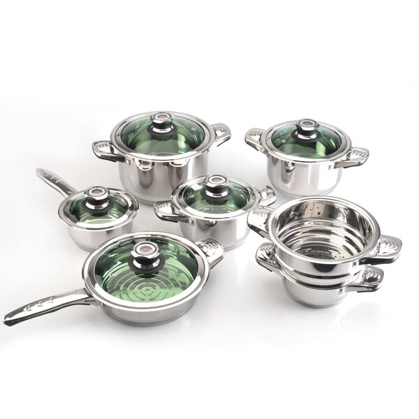 Excellence 12-Piece Cookware Set by BergHOFF International