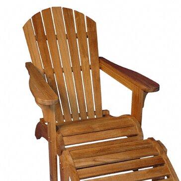 Teak Adirondack Chair by Regal Teak