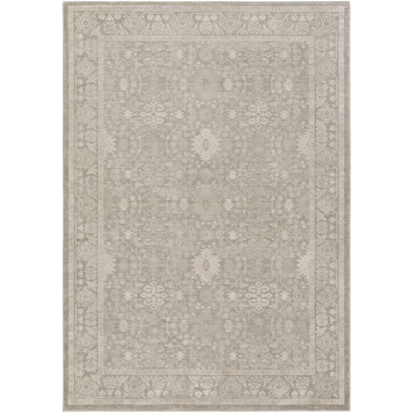 Riviere Gray/Ivory Area Rug by Lark Manor