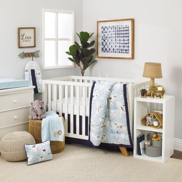 Dreamer Little Explorer World Map 8 Piece Crib Bed