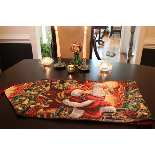 Chimney Table Runner by Tache Home Fashion