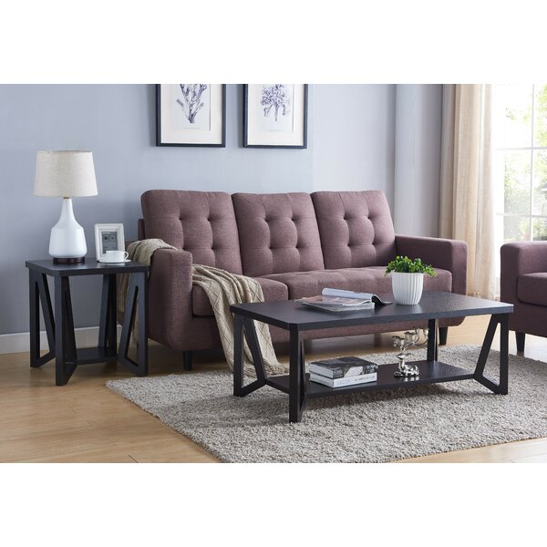 Nomie 2 Piece Coffee Table Set by Gracie Oaks Gracie Oaks