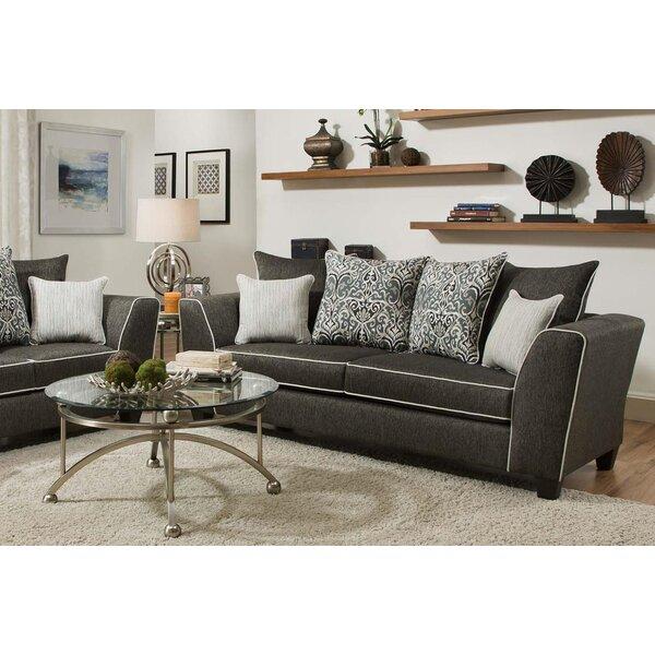Discount Teterboro Vivid Onyx Sofa