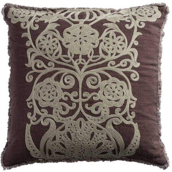 Laguna Cotton Slub Throw Pillow by World Menagerie