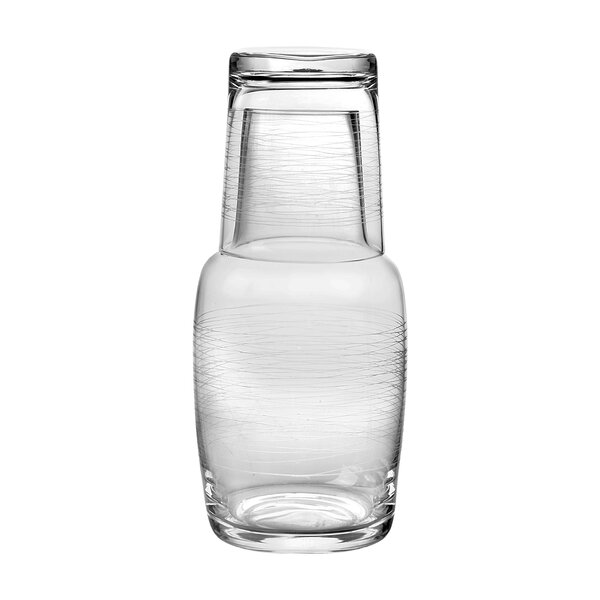 2 Piece Night Carafe Set by Qualia Glass