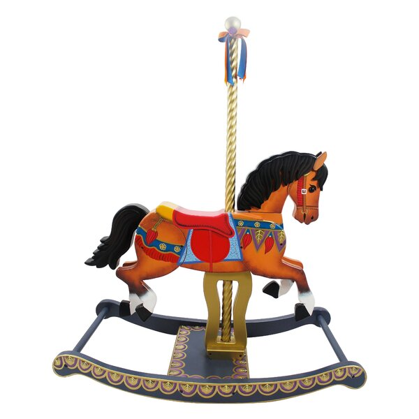 Carousel Style Rocking Horse by Teamson Kids