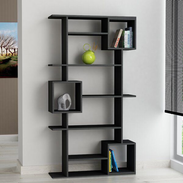 Hillary Modern Standard Bookcase by Wrought Studio