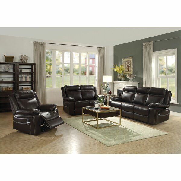 Review Coppage Upholstered Reclining Loveseat