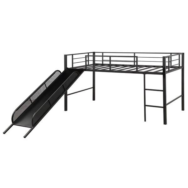 Rylee Twin Low Loft Bed by Harriet Bee