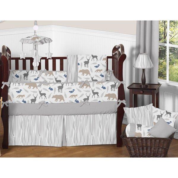 Woodland Animals 9 Piece Crib Bedding Set by Sweet