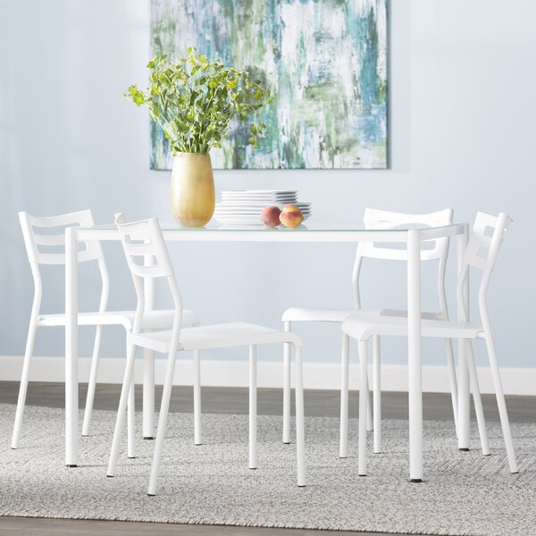 Tober 5 Piece Breakfast Nook Dining Set by Latitude Run