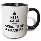 Keep Calm Youre Going to Be a Grandpa Coffee Mug byEast Urban Home