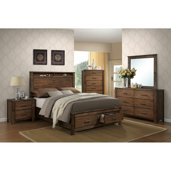 Defreitas Enchanting Platform Solid Wood Configurable Bedroom Set by Foundry Select