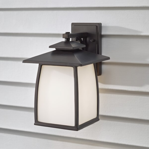 Bridgwater 1-Light Outdoor Wall Lantern by Darby Home Co