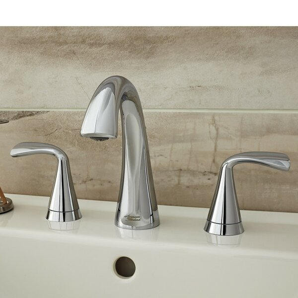 Fluent Widespread Bathroom Faucet with Drain Assem