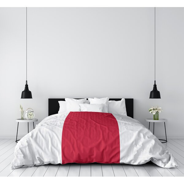 Houston Throwback Arizona Football Stripes Single Duvet Cover