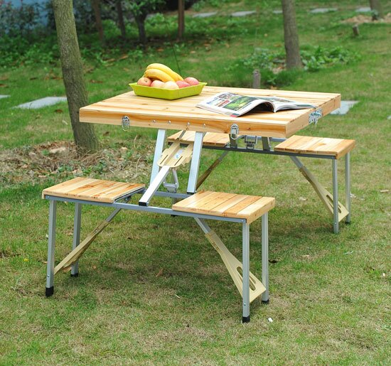 Baum Picnic Table by Andover Mills