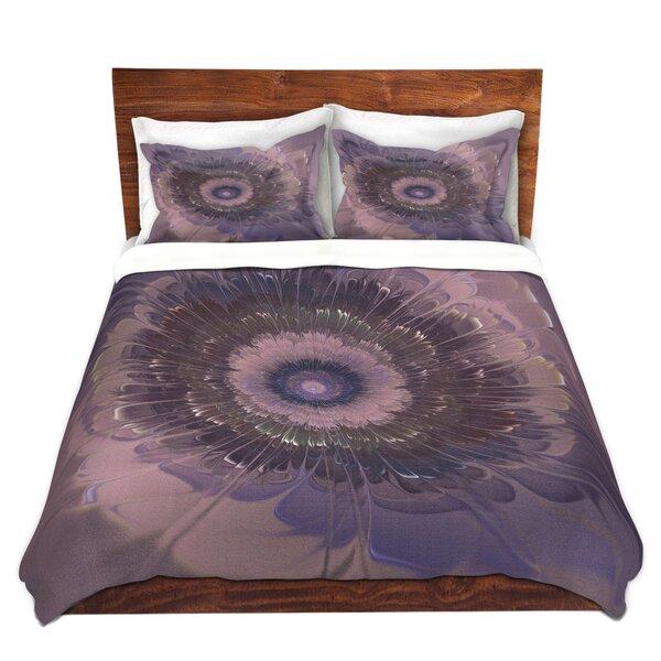 Matheson Pam Amos Silken Purples Microfiber Duvet Covers by Latitude Run