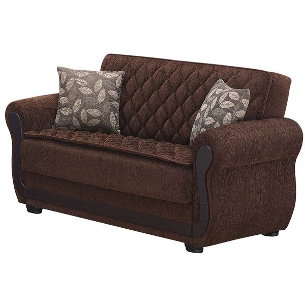 Sunrise Chesterfield Loveseat by Beyan Signature