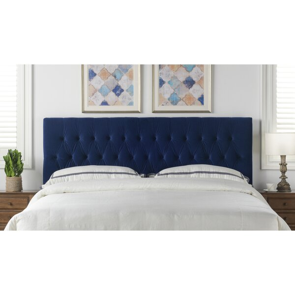Hawtree King Upholstered Panel Headboard by Willa Arlo Interiors