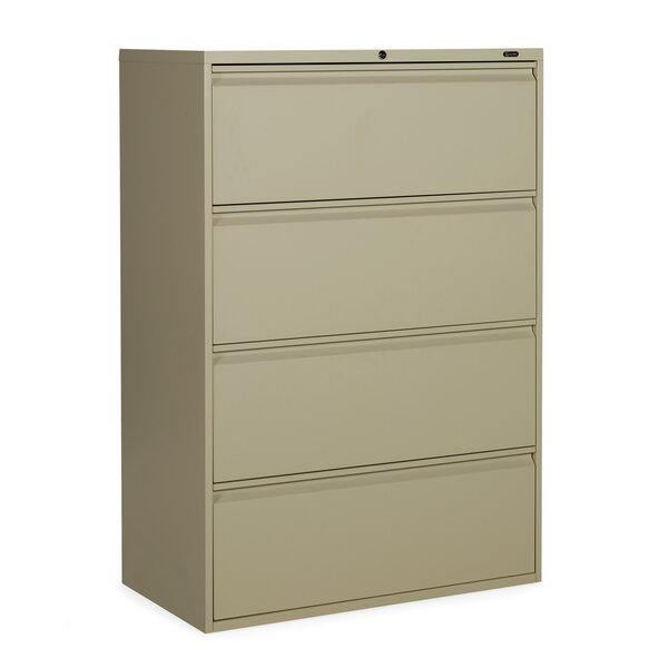 1900 Plus 4-Drawer Lateral File by Global Total Office