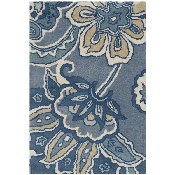 Armstrong Blue Rug by Winston Porter