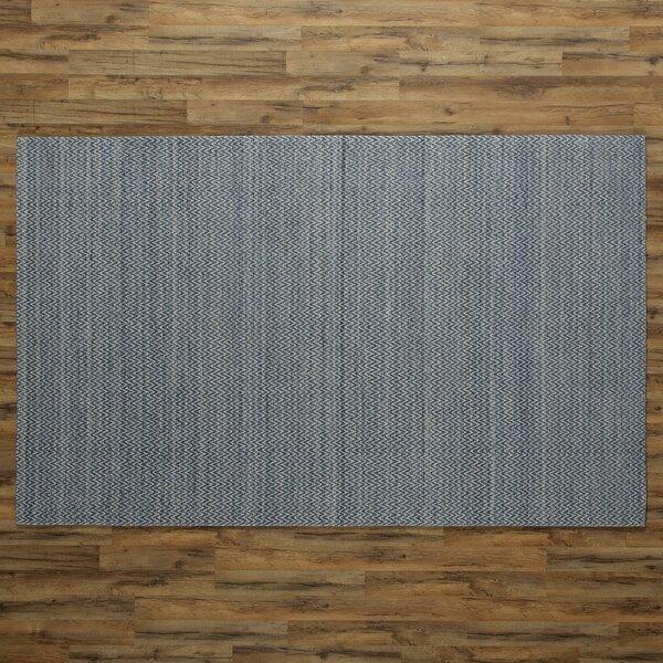 Isabella Hand-Woven Blue Area Rug by Birch Lane™