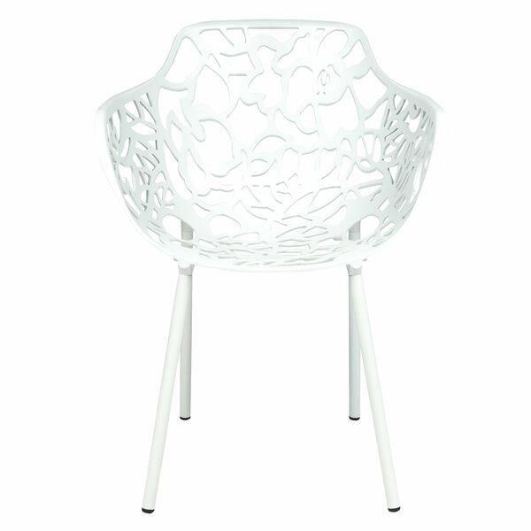 Espada Stacking Patio Dining Chair (Set of 4) by Brayden Studio