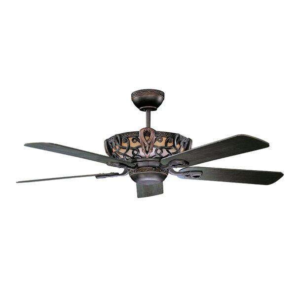 52 Lindsay 5 Blade Ceiling Fan by Fleur De Lis Living