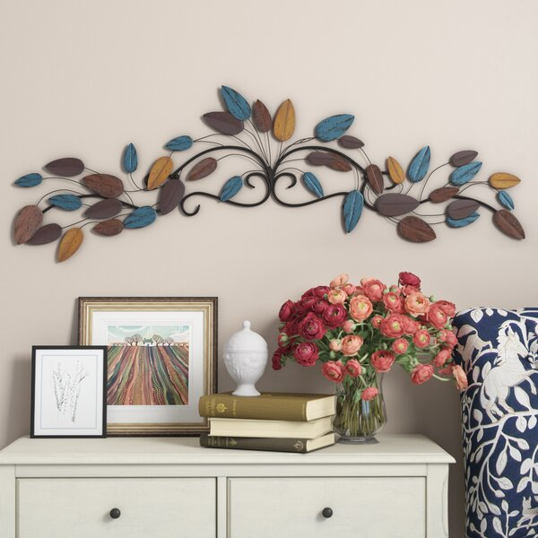 Traditional Metal Wall Décor by Three Posts