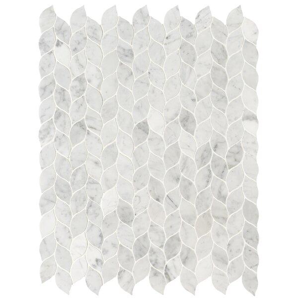 Blanco 1'' x 2'' Marble Mosaic Tile