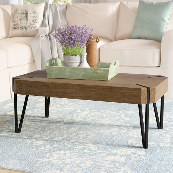 Mikesha Coffee Table by Gracie Oaks
