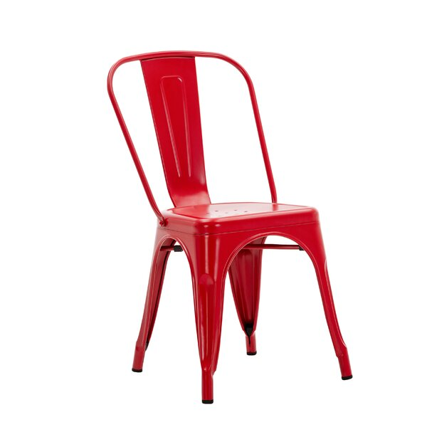 Wynn Stacking Patio Dining Chair by Williston Forge Williston Forge