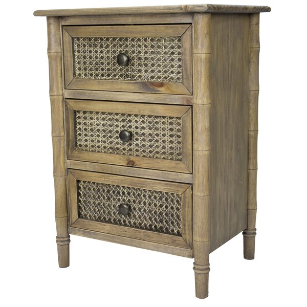 Ali 3 Drawer Accent Chest by Bay Isle Home