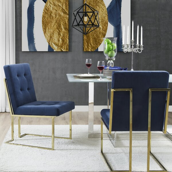 Bellamy Side Chair (Set of 2) by Everly Quinn
