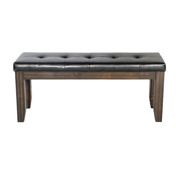 Pursell Wood Bench by Alcott Hill